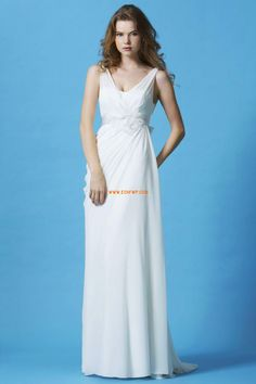 Sweep Släp Elegant & Lyxig Vår Bröllopsklänningar 2014