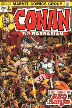 Conan The Barbarian (#24) ... featuring the Song of Red Sonja