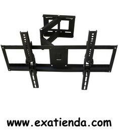 """Ya disponible Soporte pared vesa 32 55""""   (por sólo 72.95 € IVA incluído):   - Tamaño TV: 32-55 - Tamañoproducto: 640x410mm - Angulo inclinacion: -15º / + 15º izquierda y derecha 180º - Distancia a la pared: 100-450mm -Peso maximo soportado: 75Kg - Incluye manual de montaje - Facil instalacion  - P/N: SOP-32455-MO Garantía de 24 meses.  http://www.exabyteinformatica.com/tienda/3083-soporte-pared-vesa-32-55- #tv #exabyteinformatica"""