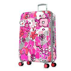 "Olympia Blossom II 25"" Rolling Case HD-3525-PK | Luggage Pros"