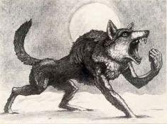 """""""Werewolf"""" Artist Tony Ackland. Werewolf, Pure Products, Artist, Artists, Werewolves"""
