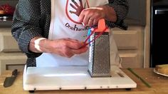 Using a one handed cutting board