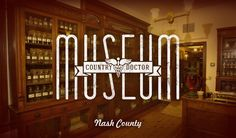 Visitors looking for North Carolina's quirky and unusual attractions will have their patience rewarded at the County Doctor Museum in the town of Bailey in Nash County. The museum, founded in 1967, is housed in two restored 19th-century physicians' offices and interprets the history of medicine in rural America. The collection includes more than 5,000 artifacts including medical instruments and apothecary items as well as diaries, papers and medical books.