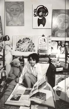 Mirka Mora, one of Melbourne's best-known and most-loved artists whose distinctive works have adorned the city like no other, has died at the age of Digital Museum, Dream Art, Art For Art Sake, The Life, Art Studios, Cool Cats, Female Art, Art Lessons, Art History