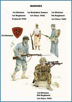 THE 3RD MARINE DIVISION TOOK PART IN THE LIBERATION OF GUAM ON 21 JULY 1944