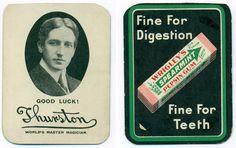 Thurston Wrigley's Throwing Card