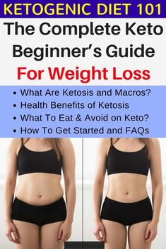 In this complete keto beginner's guide for weight loss, you will learn what ketosis and macros are, health benefits of ketosis, what to eat and avoid on keto, how to get started and FAQs #HowtoEatHealthy