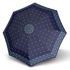 Doppler Magic Mini Carbon MASCHA Satin - luxusní plně automatický modrý deštník Ladies Umbrella, Satin, Women's Umbrellas, Mini, Design, Elastic Satin, Silk Satin