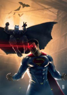 Batman Vs Superman by RaffoRamat on DeviantArt