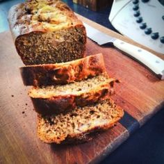 I've converted Karen Martini's delicious Banana Bread recipe for Thermomix. It uses olive oil instead of butter and is fluffy and flavoursome.