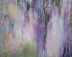 Wisteria Etude in Lavender by annieflynn1 on Etsy, $250.00
