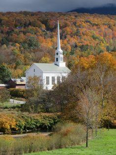 Vermont - Fall colours: thematuretraveller.co.uk Travel News, Vermont, Colours, Fall, Autumn, Fall Season