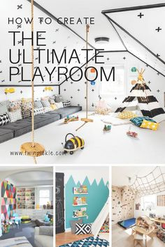 If your little ones are lucky enough to have a play room (or a designated space for toys and activities) there are three key design factors you will want to take into account: toy storage, kids playroom ideas How to Create the Ultimate Playroom Playroom Design, Playroom Decor, Kids Decor, Home Decor, Playroom Seating, Playroom Flooring, Modern Playroom, Nursery Decor, Decor Ideas