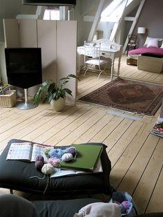 這種淺色木地板更有鄉村味, 可惜台灣能接受的屋主不多    Comfort zone by moline (Germany)