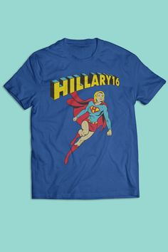 Super Hillary! <3 the shirt and tank!