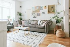 Living Room - Image By adam Crohill Pastel Living Room, Pastel Room, Pastel House, Living Room Grey, Living Room Sofa, Home Living Room, Living Room Decor, Lounge Design, Houses