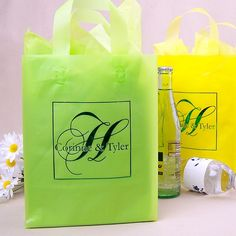 6c4328ff4bc 8 x 10 Submit Your Own Artwork Frosted Gift Bags (Set of 25). My Wedding  Reception Ideas
