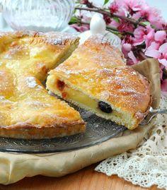 Polish Aversana cake with cream and cherries - Torta Polacca Aversana ricetta con crema pasticcera e amarene