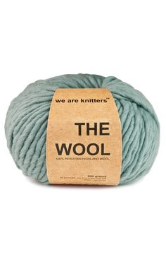 100% Peruvian and Natural Wool Lead | We Are Knitters