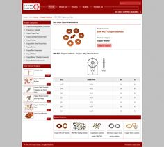 Din 9021 copper washers by conexcoppe via slideshare
