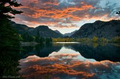Castle Lakes Sunset. Lake City Colorado | An amazing sunset in the San Juan Mountains of Colorado.