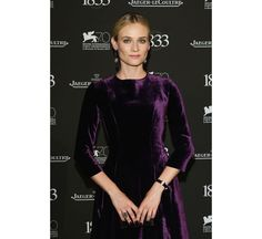 """La montre """"Joaillerie 101 Etrier"""" de Diane Kruger http://www.vogue.fr/jaeger-lecoultre/red-carpet/diaporama/la-montre-joaillerie-101-etrier-jaeger-lecoultre-de-diane-kruger-la-fenice-venise/14960"""
