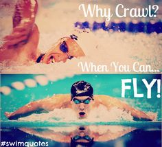 I can honestly say that I love swimming the butterfly, so this is perfect! :D