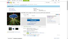 DANY MINI LASER spotlight LED Effect Laser disco,PARTY,DISCO,BAR,PUB | eBay