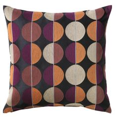 These pillows would coordinate with the stripe on the Mellby chair, just for example. IKEA - OTTIL, Cushion cover, Jacquard weave gives the cushion cover a pattern with a subtle, slightly raised relief.</t><t>The zipper makes the cover easy to remove. At Home Furniture Store, Modern Home Furniture, Living Room Carpet, New Living Room, Throw Pillow Covers, Throw Pillows, Cushion Covers Online, Living Room Seating, Tv Decor