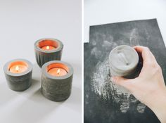 9 cool things to make with cement. #DIY