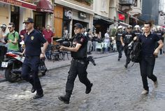 The Latest: Tear gas, checkpoints greet LGBT pride in Turkey