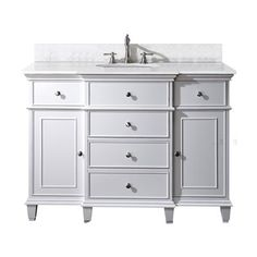 Avanity WINDSOR-VS Windsor Bathroom Vanity with Counter Top and Sink