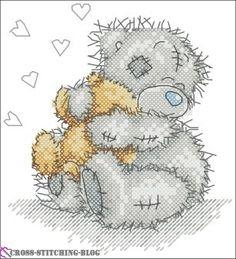 Bear Hug (Anchor TT 204)   Cross Stitching Blog