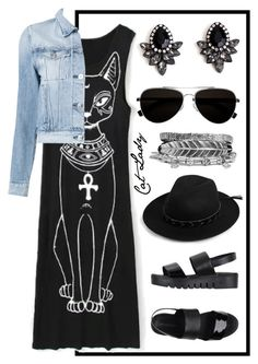 """""""crazy cat lady- sit tall"""" by abrianamyers ❤ liked on Polyvore featuring WithChic, Jeffrey Campbell, Calvin Klein, 3x1 and Boohoo"""