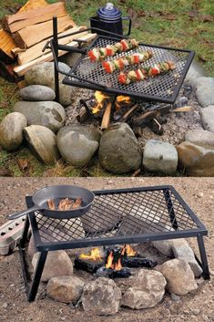 Fire Pit Cooking, Fire Pit Grill, Fire Pit Area, Bbq Grill, Fire Pit Coffee Table, Outdoor Fire Pit Table, Fire Pit Backyard, Backyard Patio, Garden Fire Pit