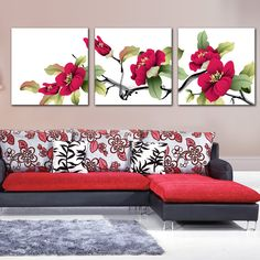 10 Ways to Enhance Your Home with Art Cute Canvas Paintings, Canvas Art, Small Canvas, Beginner Painting, Nursery Wall Art, House Painting, Flower Art, Decorating Your Home, Wall Decor