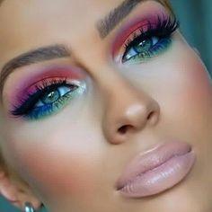 Eye Makeup Tips.Smokey Eye Makeup Tips - For a Catchy and Impressive Look Gorgeous Makeup, Pretty Makeup, Love Makeup, Makeup Inspo, Makeup Art, Makeup Inspiration, Makeup Ideas, Makeup Salon, Mua Makeup