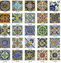Colored tiles, set into the step-down area just outside the kitchen, are often seen in Spanish colonial homes built in California during the 1920s and 30s. Description from pinterest.com. I searched for this on bing.com/images