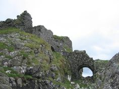 Dunscaith Castle - geograph.org.uk - 218475 - Dunscaith Castle - Wikipedia, the…
