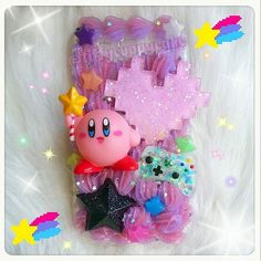 MADE TO ORDER, Kirby Decoden Phone, iPod or Nintendo ds lite/3ds/3ds xl/2ds Case :3