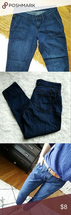Old Navy the boyfriend jeans very soft 100% cotton boyfriend jeans, size 2 worn a handful times, very good used condition Old Navy Jeans Boyfriend