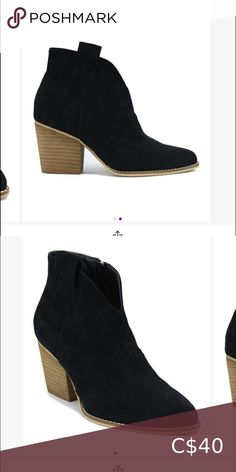 Suede booties Brand new Ordered the wrong size and can't return beast Shoes Ankle Boots & Booties Black Booties, Leather Ankle Boots, Bootie Boots, Shoe Boots, Shoes, Sam Edelman Boots, Steve Madden Boots, Brown Ankle Boots, Chelsea Boots