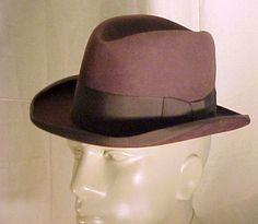 MEN'S 1930'S STETSON HOMBURG