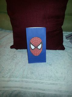 Spiderman party favor bags