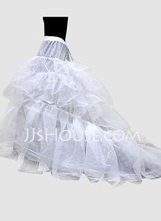 Petticoats - $29.99 - Nylon Ball Gown Chapel Train 1 Tier Floor-length Slip Style/ Wedding Petticoats (037024157) http://jjshouse.com/Nylon-Ball-Gown-Chapel-Train-1-Tier-Floor-Length-Slip-Style-Wedding-Petticoats-037024157-g24157