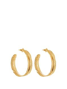 Marte Frisnes Aurora gold-plated earrings