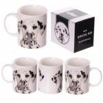 Mug en porcelaine tendre - Collection de Dalmatien