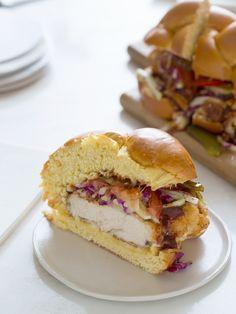 Chicken Sandwiches | Recipe | Fried Chicken Sandwich, Chicken Sandwich ...