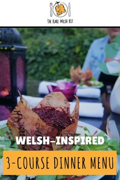 Looking for summer dinner party menu ideas? Take a look at this Welsh-themed dinner party menu for inspiration - the entire three courses can be prepared in less than one hour (excluding marinating time)! Welsh Recipes, British Recipes, Summer Dinner Party Menu, Dinner Menu, Summer Recipes, Great Recipes, Smoked Lamb, Dinner Themes, Appetisers