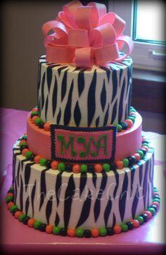 Zebra Cake!!